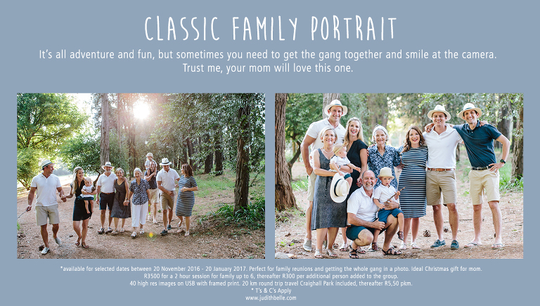 Judith Belle Doubell Photography Adventure Stories Johannesburg Sandton Rosebank Parkview Parktown Parkhurst Craighall Park Sandton Morningside Houghton Family Portrait Special December 2016
